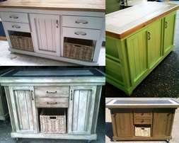 Kitchen Island & Butcher Blocks