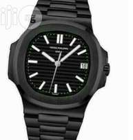 All Black Bracelet Patek Philippe Watch