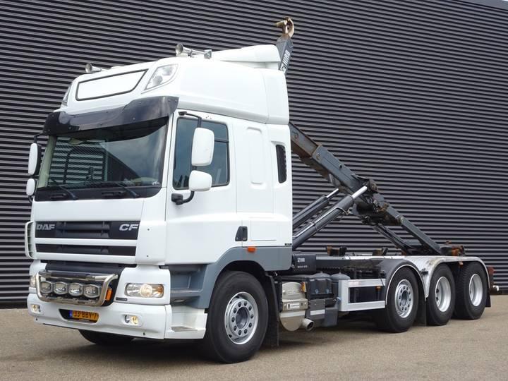 DAF CF 85.460 EURO 5 / 8x2 / 30T HAAKARM - 2013
