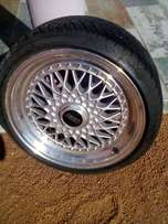 "17"" BBS rims and tyres for sale"