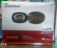 Brand new Semtoni 6 by 9 speakers, free delivery within Nairobi cbd.