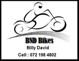 Repairs, services and rebuilds done on all bikes, quads, scooters and