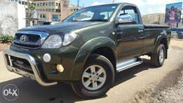 Toyota Hilux 4X4 Raider - KCN Registration, 3 Tonne Load Capacity