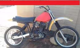 dr 500cc suzuki offroad as is non runner R3500 negotiable