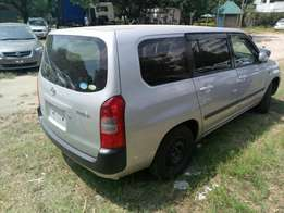 Toyota Probox F extra KCM number 2012 model loaded with alloy rims