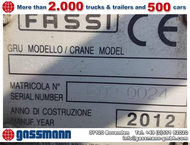 Fassi other - 2012