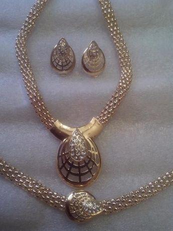 6c46c071b2ffff Duży komplet biżuterii Kolia,bransoletka,kolczyki ,pierścionek Tanio !  Białystok - image 3