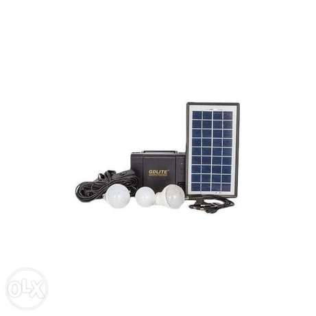 Generic GD-8006-A - Solar Lighting System - Black. Nairobi CBD - image 1
