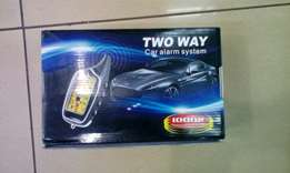Steel mate two way car alarm system