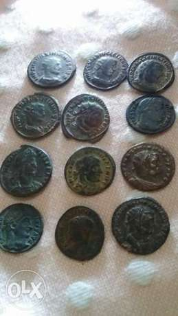 Roman Ancient Bronze Coins for around 1500 years