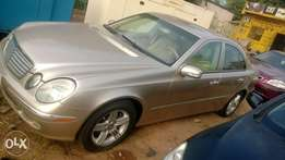 Clean few months used Mercedes Benz E320 up for urgent sale.