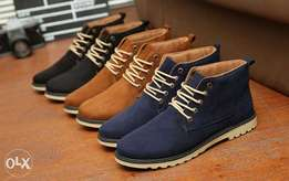 Men Quality PU Leather Boots