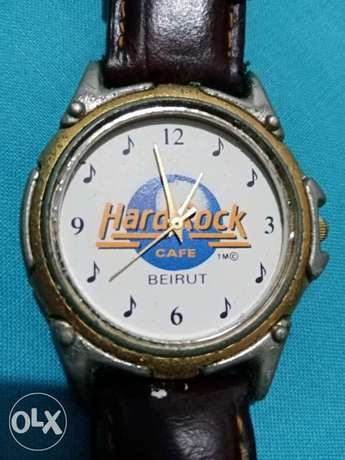 Vintage rare Hard rock cafe beirut watch Special Edition