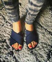 Denim slips