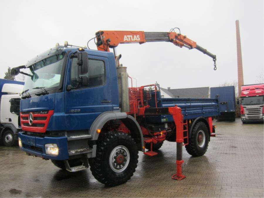 Mercedes-Benz Axor 1829 A 4X4 Atlas 4006B Manual Euro 5 - 2010 - image 2