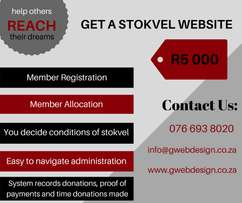 Stokvel Website Design