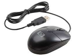 HP USB Wired 3 Button Optical Mouse Nairobi CBD - image 1