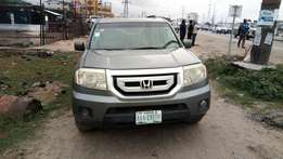 Smooth Driving Nig Used 2009 Honda Pilot 4WD In Excellent Condition.