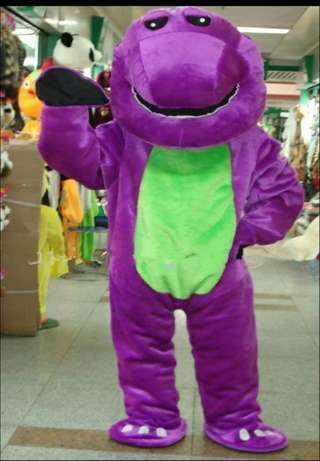 Brand new barney and friends mascot costume Port Harcourt - image 2