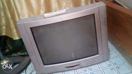 TV Tevion television uk used with remote control