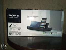 Sony Home Share iPhone Dock With Internet Radio & Wi-fi