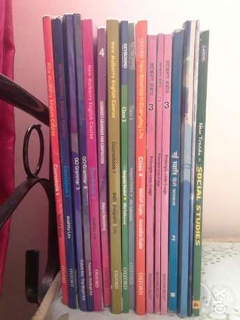 Books from class 1,2,3,4