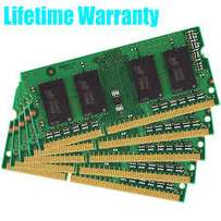 DDR1,DDR2,DDR3 Ram (SODIMM) on sale from 25k ranging from 512mb - 8gb