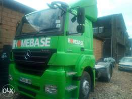 Mercedes benz Axor model 2006 green colour in excellent condition