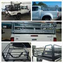 Cattle bakkie rails