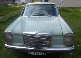 1970 Classic Mercedes Benz 115 series automatic R39000 ONO