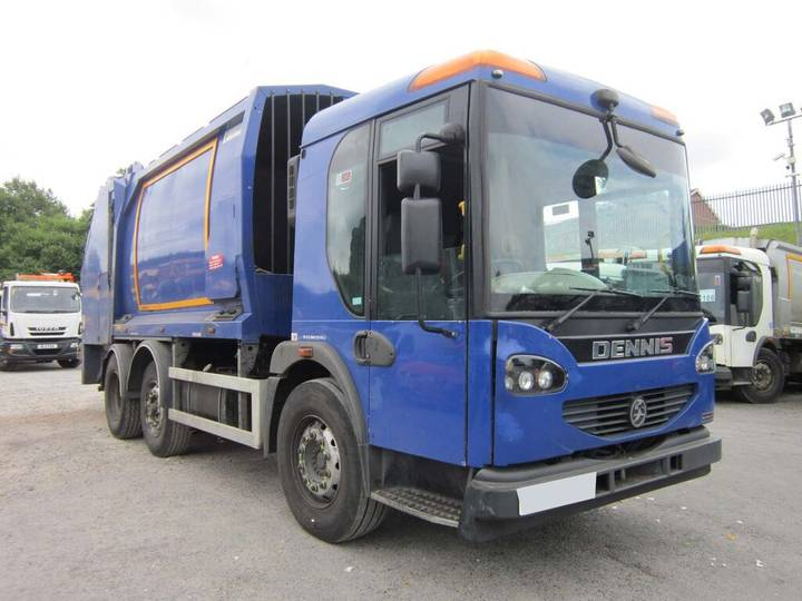 Dennis ELITE 2 6X2 24TON GEESINK NOBRA BODY REFUSE VEHICLE (GUIDE - 2010