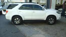 2008 Toyota Fortuner 3.0 D4D 4x4 for sale at R190000