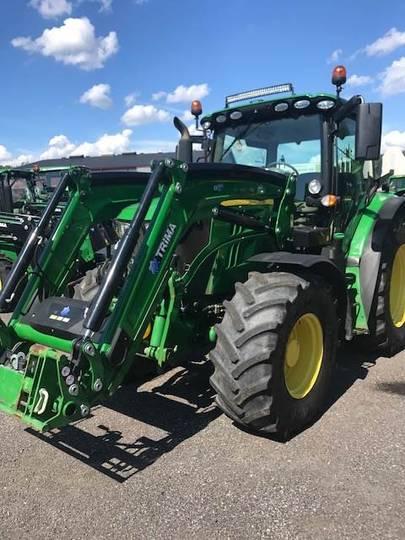 John Deere 6130r Ft4 Traktor - 2016