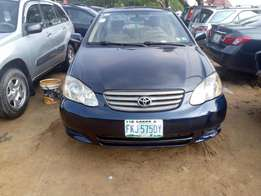 Very Clean First Body Toyota Corolla 2004