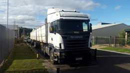 Scania R 500 Truck and and superlink Trailer combo for sale