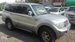 mitsubishi pajero petrol kbc super clean no accident original pain