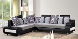Rinah L section sofa made on order at only 970k