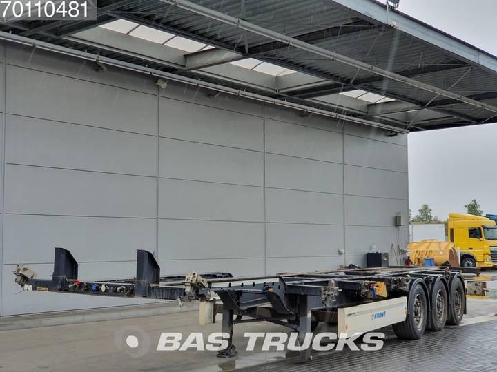 Krone 2x20-1x30-1x40ft. 3 axles Ausziehbar Extending Chassis - 2012