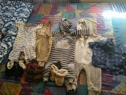 Baby boy clothes (6-12 months and up)