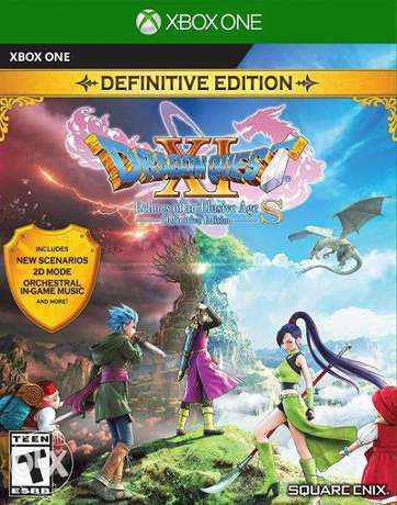 Dragon Quest XI S: Definitive Edition - US/R1 - XBOX ONE (NEW)