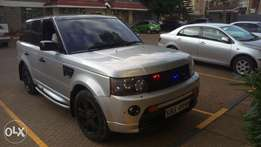 Range Rover sports fully loaded with an upgrade of 2012 face lift