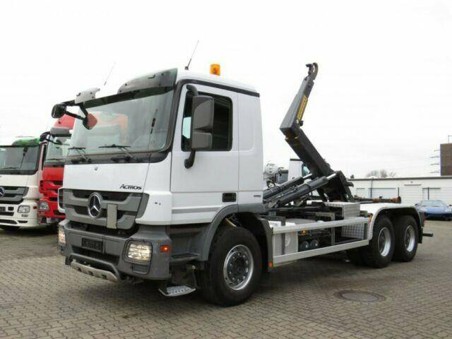 Mercedes-Benz Actros 3344 K 6x4 Abrollkipper 22to/hydr. Verrie - 2013