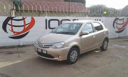 2015 Toyota Etios 1.5 XS Sprinter 5Door