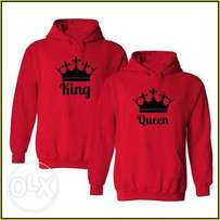 Valentines His and hers hoodies