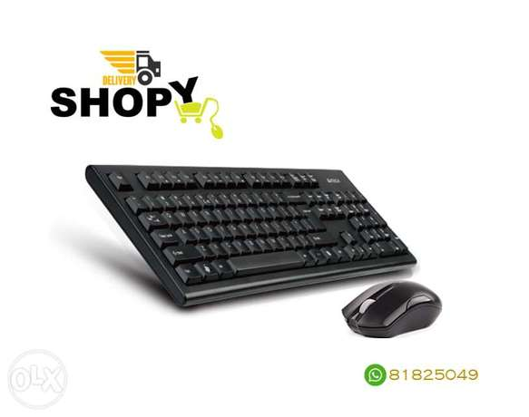 A4Tech 3000N Wireless Keyboard & Mouse