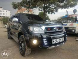 Toyota Hilux double cab, diesel Automatic. 2010 model.