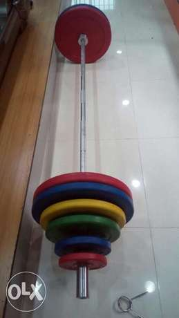 American Fitness Olympic barbell Abong - image 2