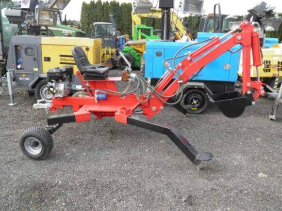Digger spidertec sp 500 mini  for sale by auction