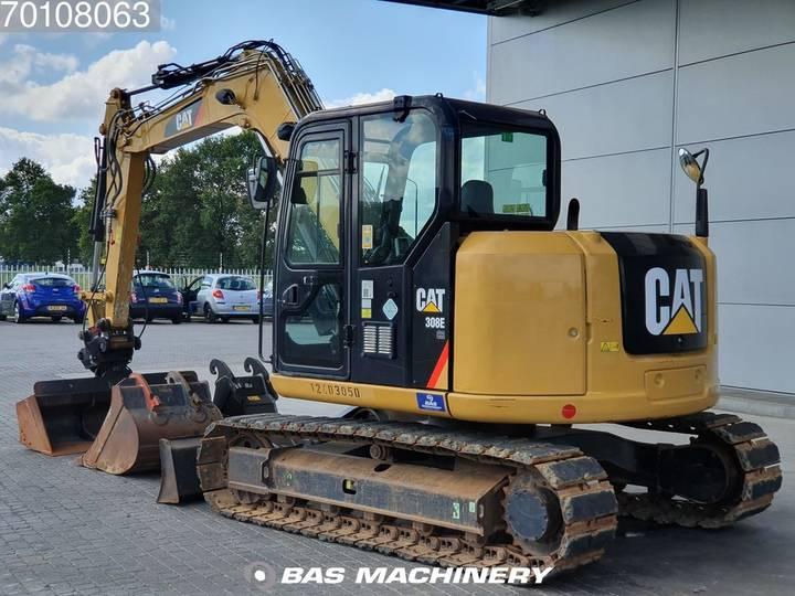 Caterpillar 308E 3 buckets - German dealer machine - 2012 - image 16