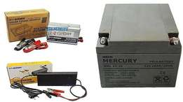 500W Inverter + 26Ah Battery System for Home or Office Use